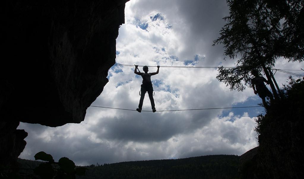 Klettersteig Todtnau : Todtnauer klettersteig schwarzwald outdoor