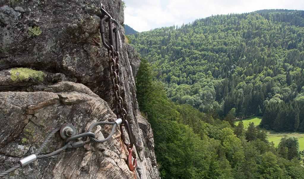 Klettersteig Basel : Klettersteige klettersteig zittergrad km bergwelten