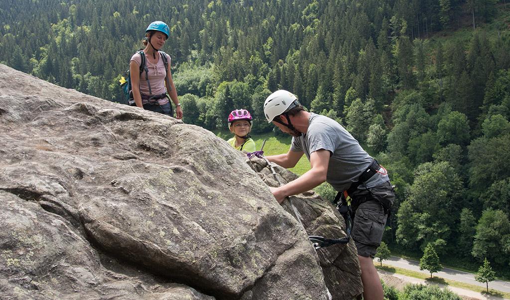 Klettersteig Schwarzwald : Der mittelrhein klettersteig in boppard wandernbonn