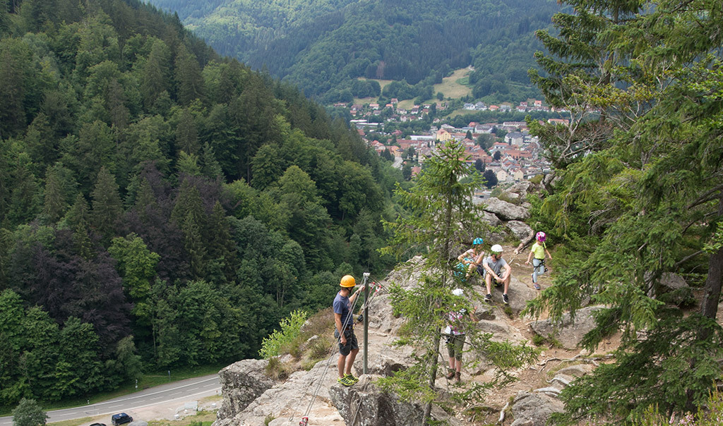 Klettersteig Basel : Kandersteg klettersteig allmenalp bergsteigen